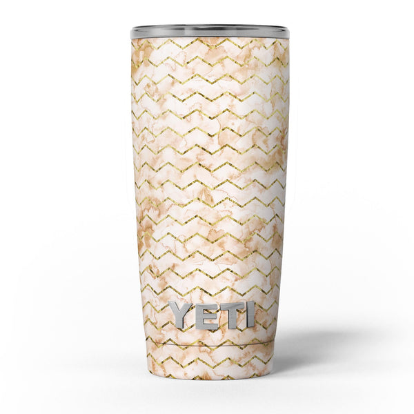 The_Rustic_Brown_and_Tan_Chevron_Pattern_-_Yeti_Rambler_Skin_Kit_-_20oz_-_V5.jpg