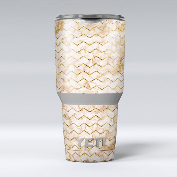 The_Rustic_Brown_and_Tan_Chevron_Pattern_-_Yeti_Rambler_Skin_Kit_-_30oz_-_V1.jpg