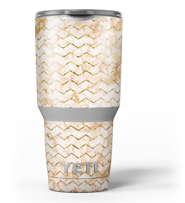 The_Rustic_Brown_and_Tan_Chevron_Pattern_-_Yeti_Rambler_Skin_Kit_-_30oz_-_V3.jpg