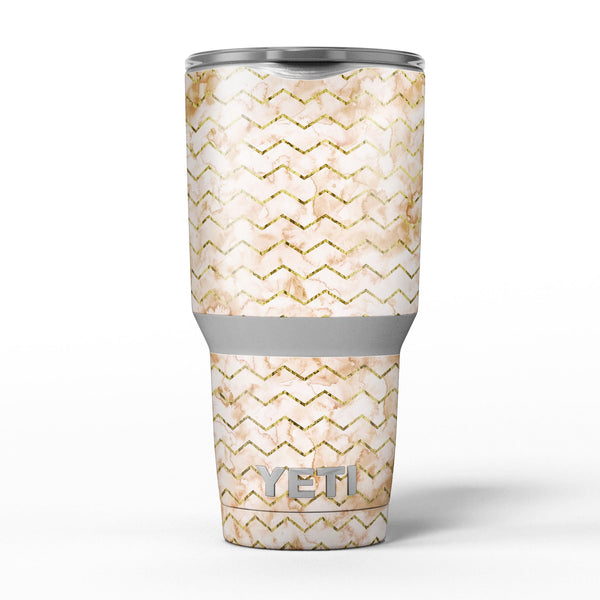 The_Rustic_Brown_and_Tan_Chevron_Pattern_-_Yeti_Rambler_Skin_Kit_-_30oz_-_V5.jpg