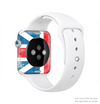 The Scratched Surface London England Flag Full-Body Skin Kit for the Apple Watch