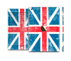 The Scratched Surface London England Flag Full Body Skin Set for the Apple iPad Mini 3