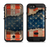 The Scratched Surface Peeled American Flag  iPhone 6/6s Plus LifeProof Fre POWER Case Skin Kit