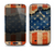The Scratched Surface Peeled American Flag Skin For The Samsung Galaxy S4