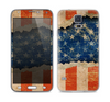 The Scratched Surface Peeled American Flag Skin For the Samsung Galaxy S5