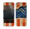 The Scratched Surface Peeled American Flag Skin for the Apple iPhone 5