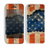The Scratched Surface Peeled American Flag Skin for the Apple iPhone 5c