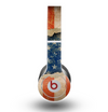 The Scratched Surface Peeled American Flag Skin for the Beats by Dre Original Solo-Solo HD Headphones