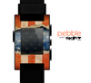 The Scratched Surface Peeled American Flag Skin for the Pebble SmartWatch