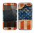 The Scratched Surface Peeled American Flag Skin for the Samsung Galaxy Note 2