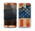 The Scratched Surface Peeled American Flag Skin for the Samsung Galaxy Note 3
