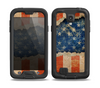 The Scratched Surface Peeled American Flag Skin for the Samsung Galaxy S4 frē LifeProof Case
