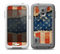The Scratched Surface Peeled American Flag Skin for the Samsung Galaxy S5 frē LifeProof Case