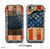 The Scratched Surface Peeled American Flag Skin for the iPhone 5c nüüd LifeProof Case