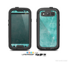 The Scratched Turquoise Surface Skin For The Samsung Galaxy S3 LifeProof Case