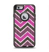 The Scratched Vintage Chevron Surface Apple iPhone 6 Otterbox Defender Case Skin Set
