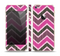 The Scratched Vintage Chevron Surface Skin Set for the Apple iPhone 5s