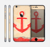 The Scratched Vintage Red Anchor Skin for the Apple iPhone 6