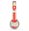 The Scratched Vintage Red Anchor Skin for the Beats by Dre Solo 2 Headphones