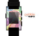 The Seamless Color Leaves Skin for the Pebble SmartWatch