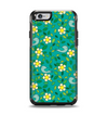 The Shades of Green Vector Flower-Bed Apple iPhone 6 Otterbox Symmetry Case Skin Set