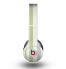 The Shades of Green Vertical Stripes Skin for the Beats by Dre Original Solo-Solo HD Headphones