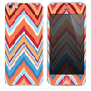 The Sharp Abstract Chevron Pattern V8 Skin for the iPhone 3, 4-4s, 5-5s or 5c