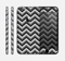 The Sharp Layered Black & Gray Chevron Pattern Skin for the Apple iPhone 6