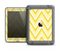 The Sharp Vintage Yellow Chevron Apple iPad Air LifeProof Fre Case Skin Set