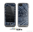 The Shattered Glass Skin for the Apple iPhone 5c LifeProof Case