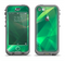 The Shiny Vector Green Crystals Apple iPhone 5c LifeProof Nuud Case Skin Set