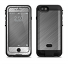 the silver brushed aluminum surface  iPhone 6/6s Plus LifeProof Fre POWER Case Skin Kit