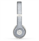 The Silver Sparkly Glitter Ultra Metallic Skin for the Beats by Dre Solo 2 Headphones