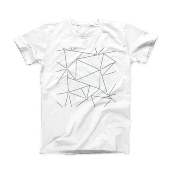 The Simple Connect ink-Fuzed Front Spot Graphic Unisex Soft-Fitted Tee Shirt