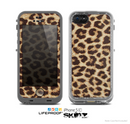 The Simple Vector Cheetah Print Skin for the Apple iPhone 5c LifeProof Case