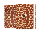 The Simple Vector Giraffe Print Full Body Skin Set for the Apple iPad Mini 3
