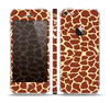 The Simple Vector Giraffe Print Skin Set for the Apple iPhone 5