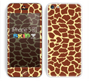 The Simple Vector Giraffe Print Skin for the Apple iPhone 5c