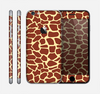 The Simple Vector Giraffe Print Skin for the Apple iPhone 6