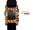 The Simple Vector Giraffe Print Skin for the Pebble SmartWatch