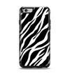 The Simple Vector Zebra Animal Print Apple iPhone 6 Otterbox Symmetry Case Skin Set