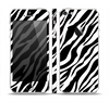 The Simple Vector Zebra Animal Print Skin Set for the Apple iPhone 5