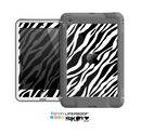 The Simple Vector Zebra Animal Print Skin for the Apple iPad Mini LifeProof Case