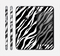 The Simple Vector Zebra Animal Print Skin for the Apple iPhone 6