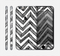 The Sketch Black Chevron Skin for the Apple iPhone 6