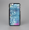 The Sketched Blue Word Surface Skin-Sert Case for the Apple iPhone 6 Plus