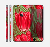 The Sketched Pink & Green Tulips Skin for the Apple iPhone 6 Plus