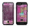 the sketched pink word surface  iPhone 6/6s Plus LifeProof Fre POWER Case Skin Kit