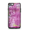 The Sketched Pink Word Surface Apple iPhone 6 Otterbox Symmetry Case Skin Set