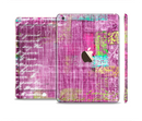 The Sketched Pink Word Surface Full Body Skin Set for the Apple iPad Mini 3